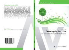 Обложка Greening in den USA
