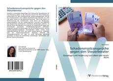 Buchcover von Schadenersatzansprüche gegen den Steuerberater