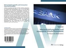 Capa do livro de Wertschöpfungstiefe und innovative Geschäftsmodelle