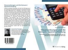 Buchcover von Steuersenkungen und die Konsum-/ Sparentscheidung