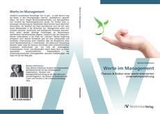 Bookcover of Werte im Management