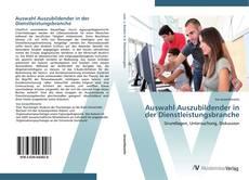 Обложка Auswahl Auszubildender in der Dienstleistungsbranche