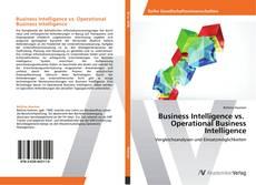 Buchcover von Business Intelligence vs. Operational Business Intelligence