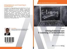 Bookcover of Erfolgsfaktoren von E-Learning in Unternehmen