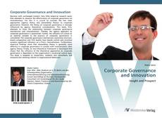 Bookcover of Corporate Governance  and Innovation