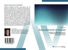 Bookcover of Kulturwirtschaft im Wandel