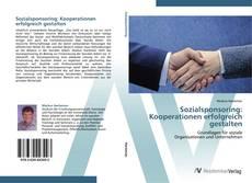 Sozialsponsoring: Kooperationen erfolgreich gestalten kitap kapağı