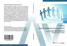 Bookcover of Nachhaltigkeitsmanagement