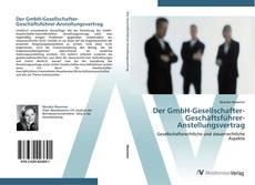 Bookcover of Der GmbH-Gesellschafter-Geschäftsführer-Anstellungsvertrag