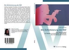 Buchcover von Die Ästhetisierung der RAF