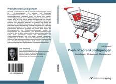Produktvorankündigungen kitap kapağı
