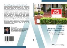 Buchcover von Immobilienpreise  und Standortwahl