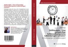 Buchcover von Zeithandeln - Eine notwendige Schlüsselkompetenz Lebenslangen Lernens?