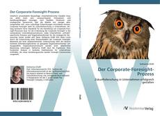 Bookcover of Der Corporate-Foresight-Prozess