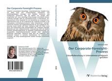 Buchcover von Der Corporate-Foresight-Prozess