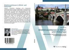 Portada del libro de Direktinvestitionen in Mittel- und Osteuropa