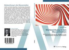 Bookcover of Werbewirkung in den Massenmedien