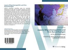 Buchcover von Japans Migrationspolitik und ihre Auswirkungen