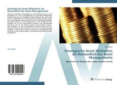 Bookcover of Strategische Asset Allokation als Bestandteil des Asset Managements