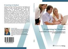 Capa do livro de E-Learning im Studium
