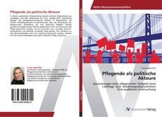 Buchcover von Pflegende als politische Akteure