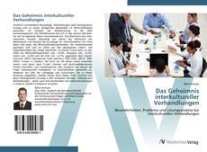 Portada del libro de Das Geheimnis interkultureller Verhandlungen