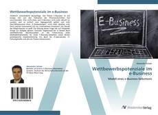 Buchcover von Wettbewerbspotenziale im e-Business