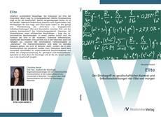 Bookcover of Elite