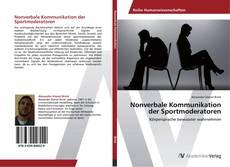 Bookcover of Nonverbale Kommunikation der Sportmoderatoren