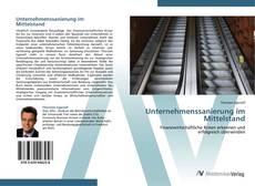 Capa do livro de Unternehmenssanierung im Mittelstand