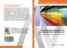 Buchcover von Versorgungsmanagement bei chronischen Schmerzen