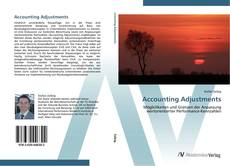 Buchcover von Accounting Adjustments