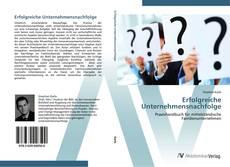 Buchcover von Erfolgreiche Unternehmensnachfolge