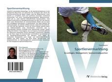 Buchcover von Sportlervermarktung