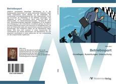 Buchcover von Betriebssport