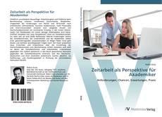 Copertina di Zeitarbeit als Perspektive für Akademiker