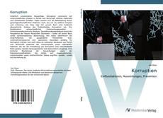 Bookcover of Korruption