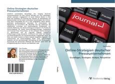Capa do livro de Online-Strategien deutscher Presseunternehmen