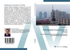 Portada del libro de Erfolgreich investieren in China