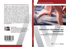 Bookcover of Motive von Volunteers bei Sportevents