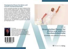 Buchcover von Strategisches Planen für kleine und mittlere Handwerksbetriebe