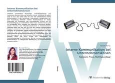 Interne Kommunikation bei Unternehmenskrisen kitap kapağı