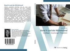 Capa do livro de Basel II und der Mittelstand