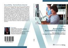 Bookcover of Accessibility -  Barrierefreies Internet
