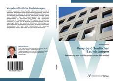 Buchcover von Vergabe öffentlicher Bauleistungen