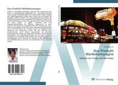 Buchcover von Das Produkt Werbekampagne