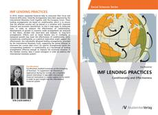 Bookcover of IMF LENDING PRACTICES