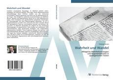 Buchcover von Wahrheit und Wandel