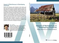 Bookcover of Impact of Remittances in Developing Countries