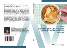Capa do livro de Predicting Fat Consumption among African American Women
